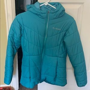 Teal Columbia Jacket